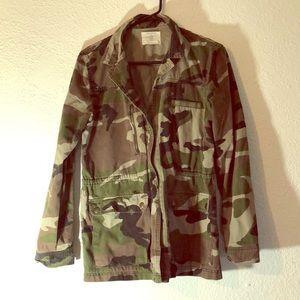 Pull & bear Camo jacket